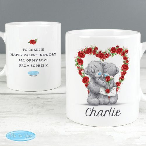 Personalised Me To You Valentine Mug Tatty Teddy Gift